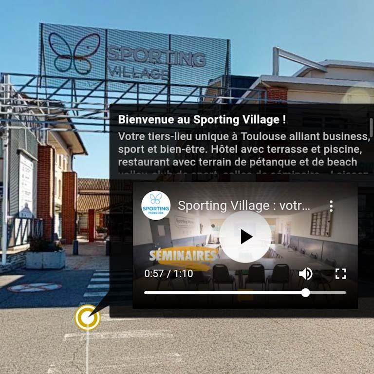 visite virtuelle matterport toulouse